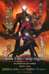Fate/stay night Movie: Unlimited Blade Works BD Sub Indo