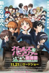 Girls & Panzer Movie BD Sub Indo