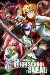 Highschool of the Dead BD Sub Indo